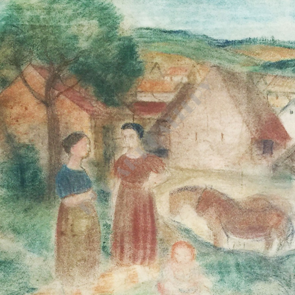 Na dedinskom dvore