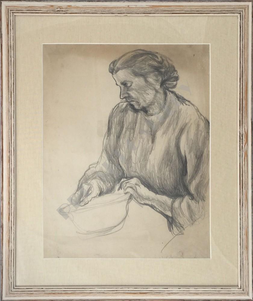 Žena s miskou