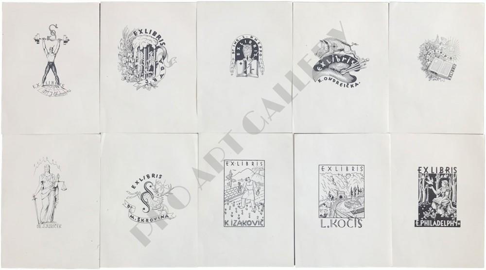 Desať Exlibrisov