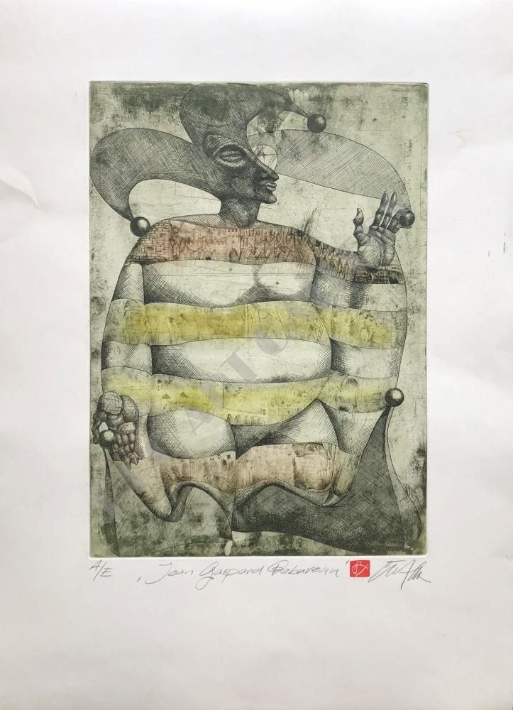 Ex Libris Jean-Gaspard Deburau